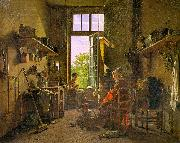 Interior of a Kitchen Martin  Drolling