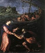 St Peter Walking on the Water ALLORI Alessandro