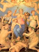 Allegory of Happiness Agnolo Bronzino