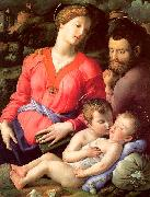 The Panciatichi Holy Family Agnolo Bronzino