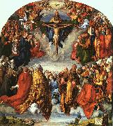 Adoration of the Trinity Albrecht Durer