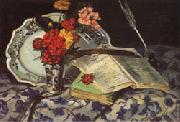 Flowers Faience Books Armand guillaumin