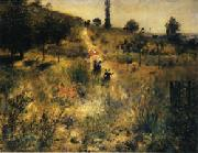 Road Rising into Deep Grass renoir