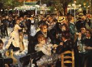 Ball at the Moulin de la Galette renoir