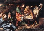 The Entombment of Christ hhh BADALOCCHIO, Sisto