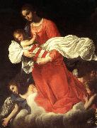 The Virgin and the Child with Angels Baglione