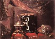 Still-life with Instruments ll BASCHENIS, Evaristo