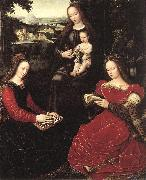 Virgin and Child with Saints BENSON, Ambrosius
