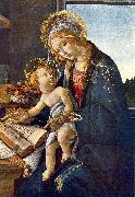 Madonna with the Child (Madonna with the Book)  vg Botticelli