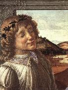 Madonna and Child with an Angel (detail)  fghfgh Botticelli