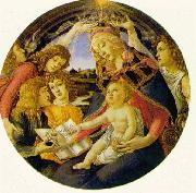 Madonna of the Magnificat  fg Botticelli