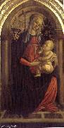 Madonna of the Rosengarden fhg Botticelli