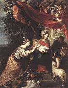The Mystic Marriage of St Catherine klj CEREZO, Mateo