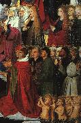 The Coronation of the Virgin, detail: the crowd iyu CHARONTON, Enguerrand