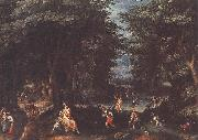 Landscape with Leto and Peasants of Lykia fsg CONINXLOO, Gillis van