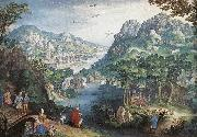 Mountain Landscape with River Valley and the Prophet Hosea dsg CONINXLOO, Gillis van