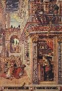 Annunciation with St Emidius fg CRIVELLI, Carlo