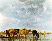 Cows in the Water CUYP, Aelbert