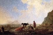 Herdsmen with Cows dfg CUYP, Aelbert
