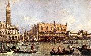 Palazzo Ducale and the Piazza di San Marco Canaletto