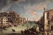 Grand Canal, Looking East from the Campo San Vio Canaletto