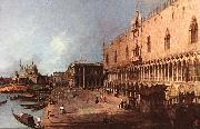 Doge Palace d Canaletto