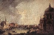 Entrance to the Grand Canal: Looking East Canaletto