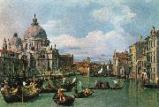 The Grand Canal and the Church of the Salute df Canaletto