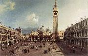 Piazza San Marco with the Basilica fg Canaletto