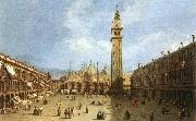Piazza San Marco f Canaletto