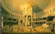 Ranelagh, the Interior of the Rotunda Canaletto