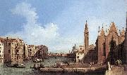 Grand Canal: from Santa Maria della Carit to the Bacino di San Marco d Canaletto