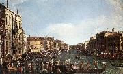 A Regatta on the Grand Canal d Canaletto