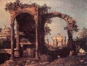 Capriccio: Ruins and Classic Buildings ds Canaletto