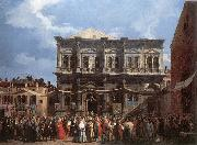 The Feast Day of St Roch fd Canaletto