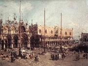 Piazza San Marco: Looking South-East Canaletto