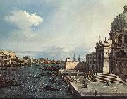 The Grand Canal at the Salute Church d Canaletto