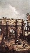Rome: The Arch of Constantine ffg Canaletto