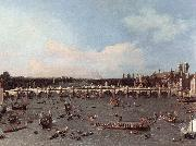 London: Westminster Bridge from the North on Lord Mayor s Day Canaletto