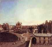 London: Whitehall and the Privy Garden from Richmond House f Canaletto