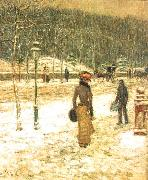 New York Street Childe Hassam