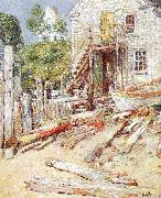 Rigger's Shop at Provincetown, Mass Childe Hassam