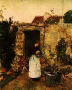 The Garden Door Childe Hassam