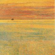 Sunset at Sea Childe Hassam