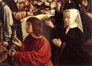 The Marriage at Cana (detail) dfgw DAVID, Gerard