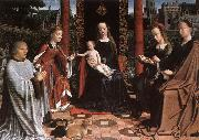 The Mystic Marriage of St Catherine dg DAVID, Gerard