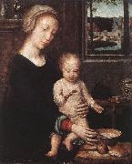 Madonna and Child with the Milk Soup dgw DAVID, Gerard