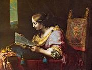 St Catherine Reading a Book sd DOLCI, Carlo