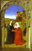 The Visitation. Dieric Bouts