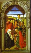 The Adoration of Magi. Dieric Bouts